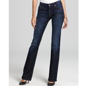 7 For All Mankind Kimmie dark wash bootcut jeans